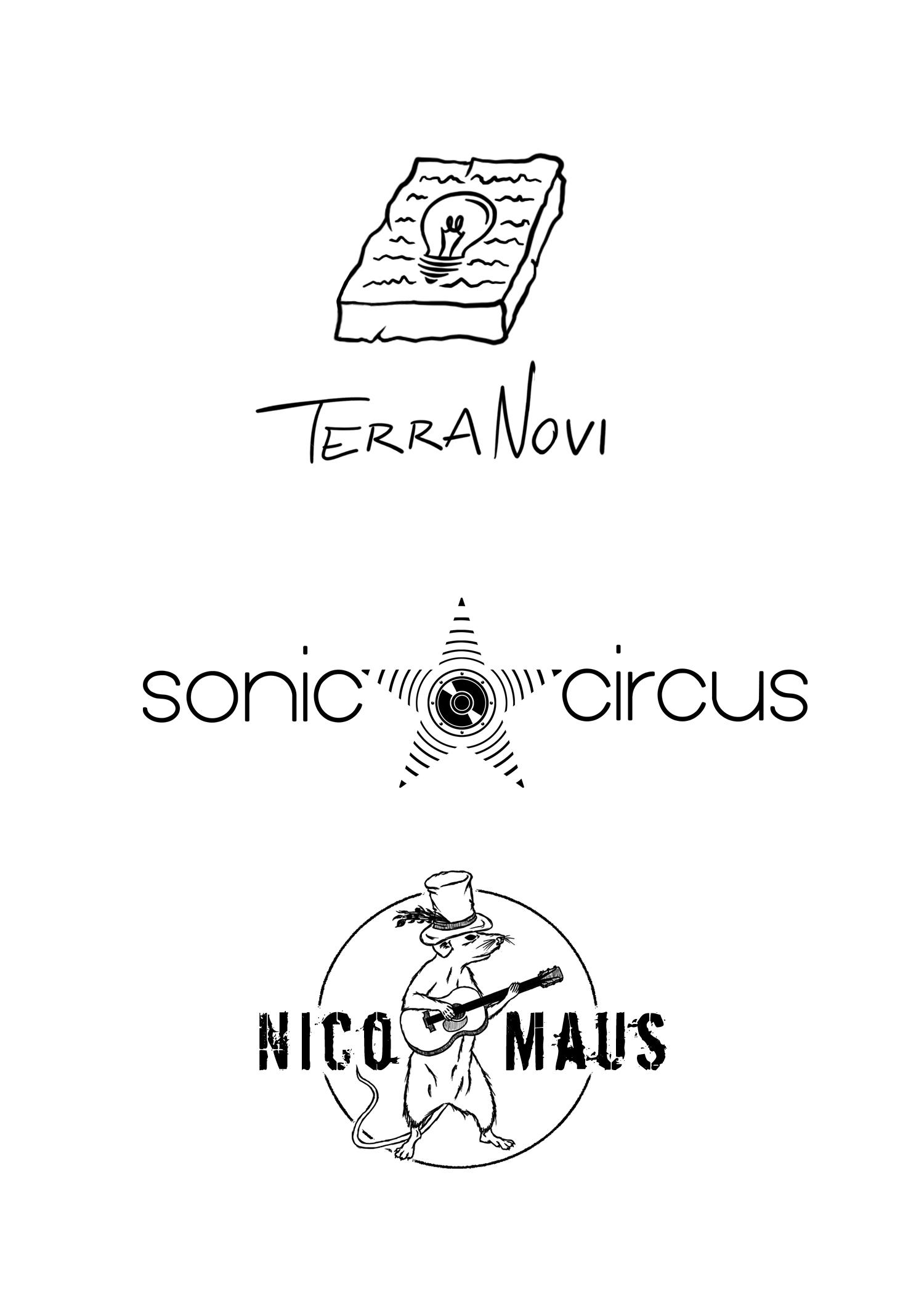 Übersicht der erstellten Logos