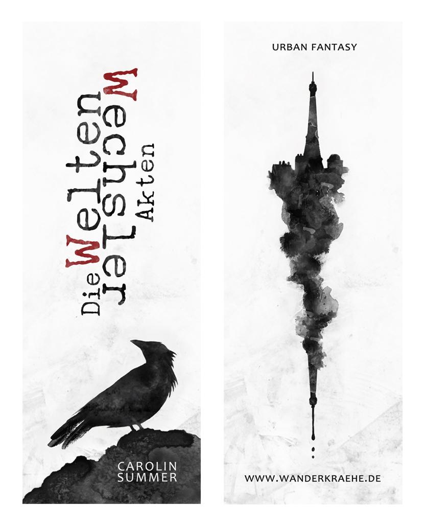 Lesezeichen Narrenlauf (Die WeltenWechsler Akten) Urban Fantasy Roman